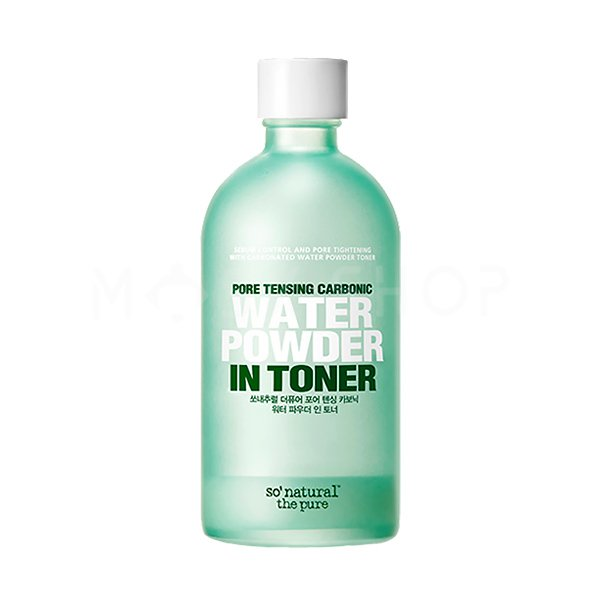 Тонер для кожи с расширенными порами So Natural Water Powder In Toner фото