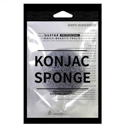 Спонж конняку Silstar Konjac Sponge фото