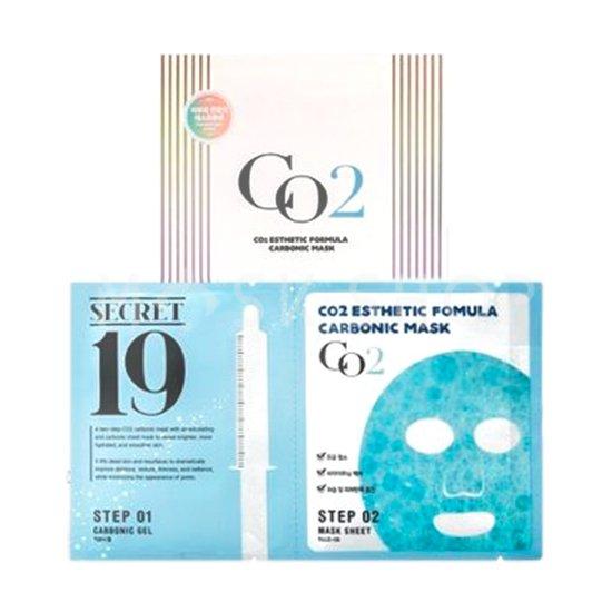 Купить Набор из 5 масок для карбокситерапии Esthetic House Secret19 CO2 Esthetic Formula Carbonic Mask