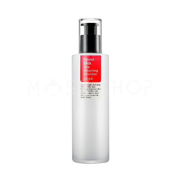 Эмульсия для проблемной кожи с кислотами Cosrx Natural BHA Skin Returning Emulsion фото