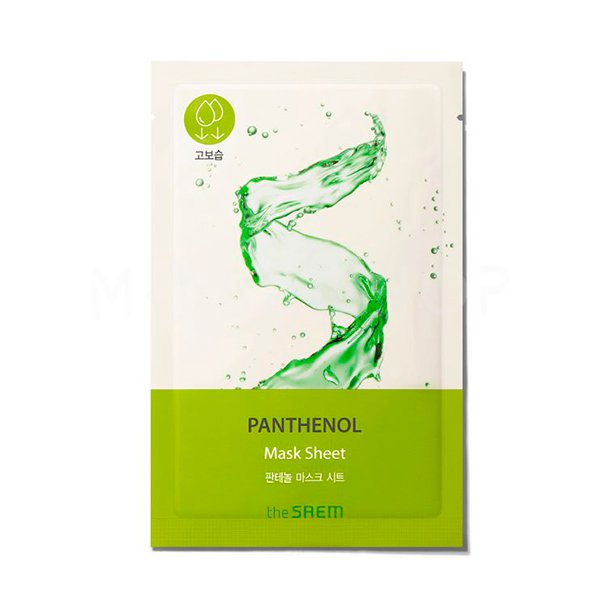 Тканевая маска с пантенолом The Saem Bio Solution Moisturizing Panthenol Mask Sheet фото