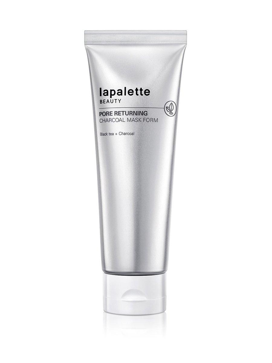 Очищающая маска-пенка Lapalette Pore Returning Charcoal Mask Foam фото