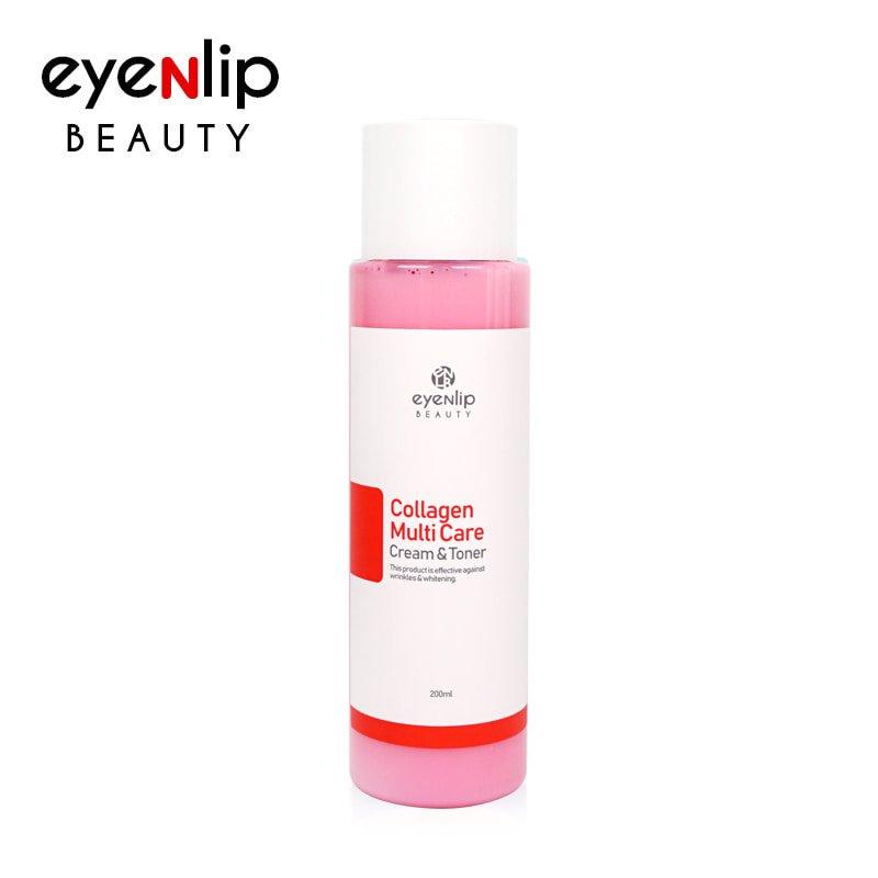 Тонер-крем с коллагеном Eyenlip Collagen Multi Care Cream Toner фото
