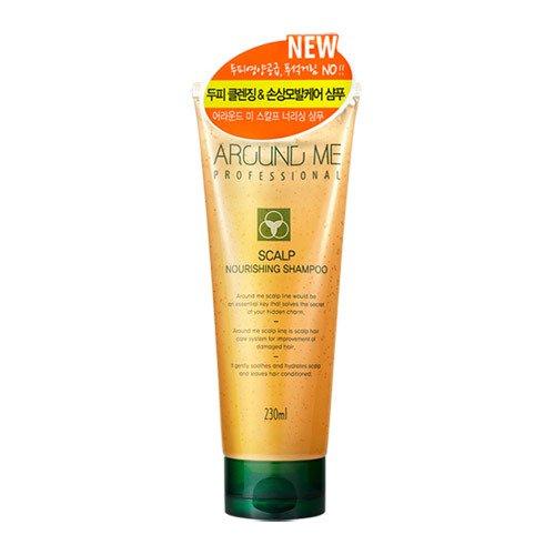 Питательный шампунь для волос Around Me Scalp Nourishing Shampoo фото