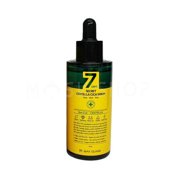 Сыворотка для проблемной кожи May Island 7 days Secret Centella Cica Serum фото