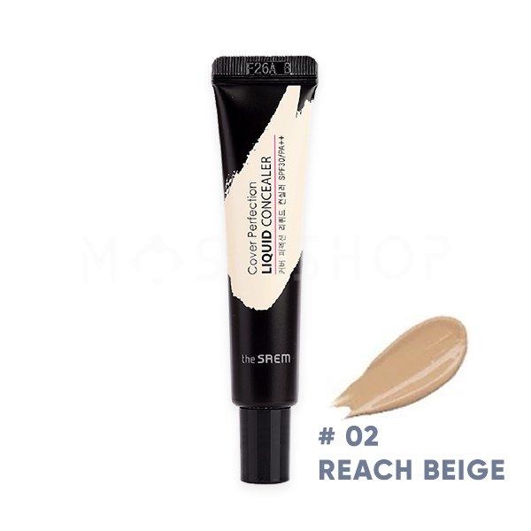Купить со скидкой Жидкий консилер для лица The Saem Cover Perfection Liquid Concealer 02 Rich Beige