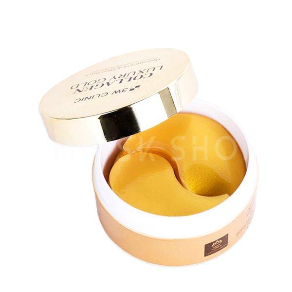 Купить Гидрогелевые патчи с лифтинг эффектом 3W Clinic Collagen & Luxury Gold Hydrogel Eye & Spot Patch