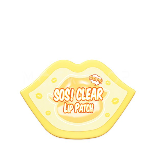 Купить Набор очищающих патчей для губ Berrisom SOS Oops Clear Lip Patch