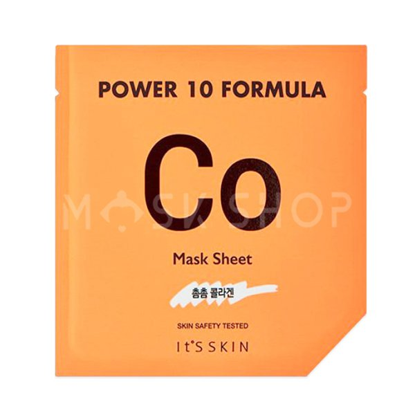 Купить Тканевая маска с коллагеном Its Skin Power 10 Formula CO Mask Sheet, It's Skin