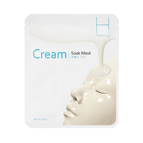 Увлажняющая кремовая маска Missha Cream Soak Mask Hydrating фото