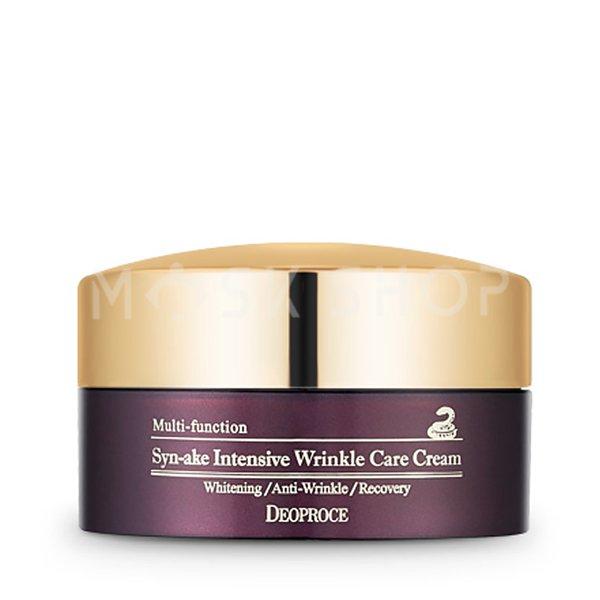 Крем против морщин со змеиным ядом Deoproce Syn-ake Intensive Wrinkle Care Cream фото