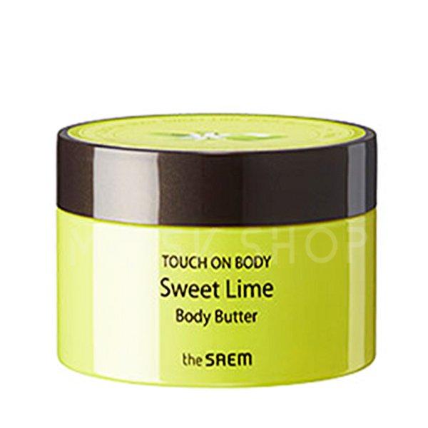 Крем-масло для тела с экстрактом лайма The Saem Touch On Body Sweet Lime Body Butter фото