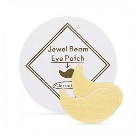 Гидрогелевые патчи с золотом и коллагеном Etude House Jewel Beam Eye Patch фото