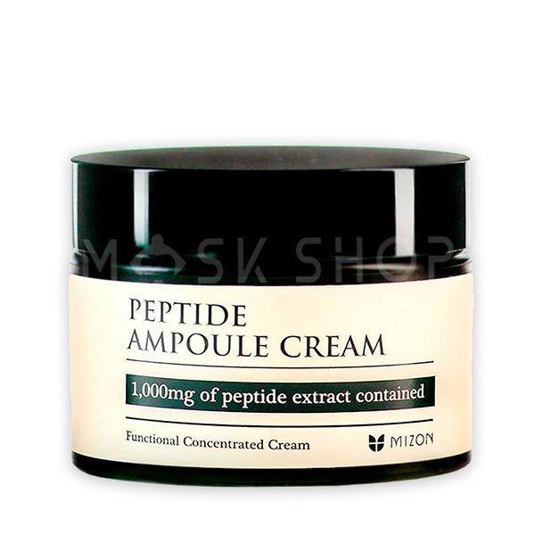 Пептидный крем для лица Mizon Peptide Ampoule Cream фото