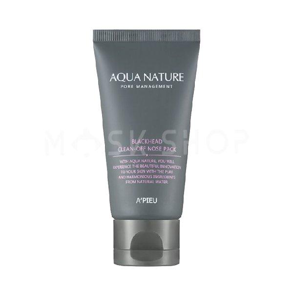 Купить Очищающая маска-пленка A'PIEU Aqua Nature Blackhead Clean-Off Nose Pack, Apieu