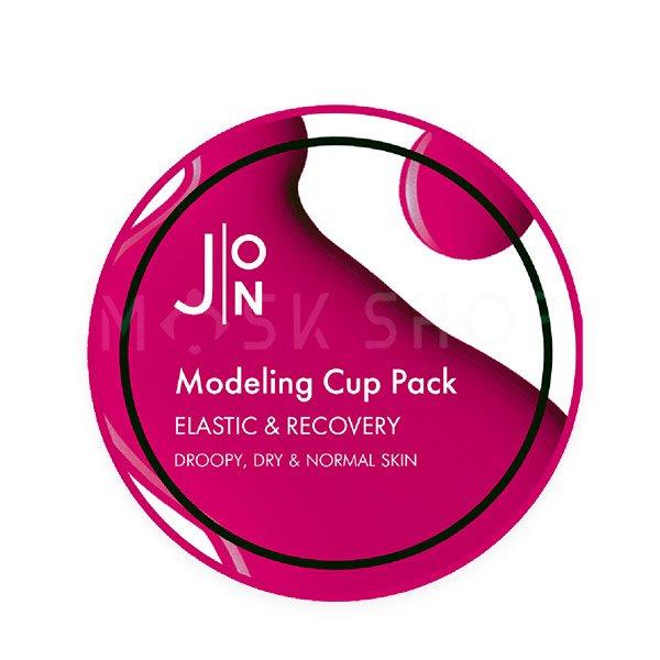 Альгинатная маска для эластичности кожи J:ON Elastic & Recovery Modeling Pack 18 г фото