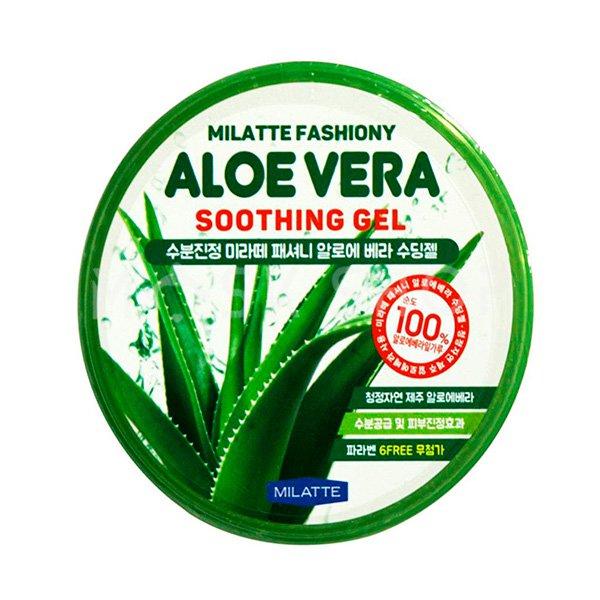 Купить Увлажняющий гель с алоэ Milatte Fashiony Aloe Vera Soothing Gel
