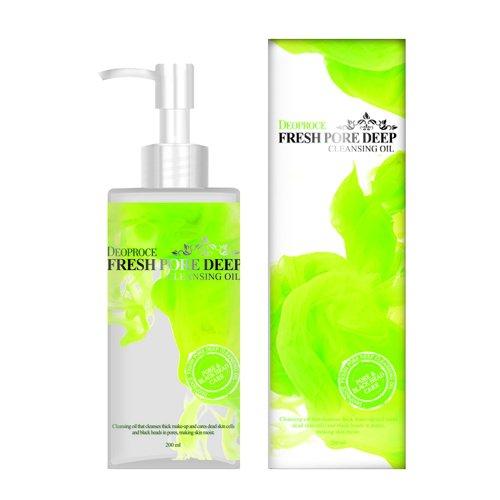 Гидрофильное масло с экстрактом шиповника Deoproce Fresh Pore Deep Cleansing Oil