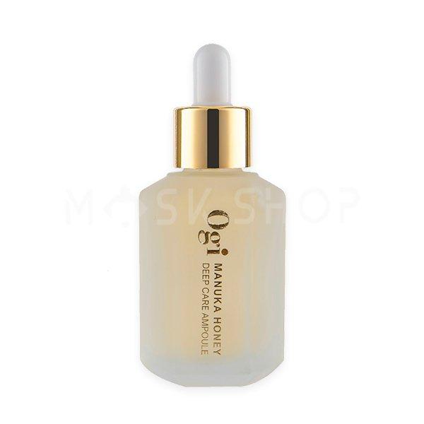 Сыворотка с экстрактом меда Ogi Manuka Honey Deep Care Ampoule фото