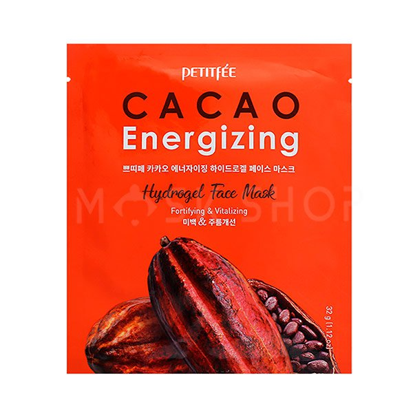 Купить Гидрогелевая маска с экстрактом какао Petitfee Cacao Energizing Hydrogel Face Mask