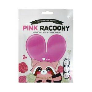 Купить Гидрогелевые патчи для глаз и скул Secret Key Pink Racoony Hydro-Gel Eye Cheek Patch 3 шт