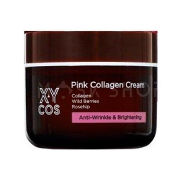 Крем для лица с коллагеном XYcos Pink Collagen Cream