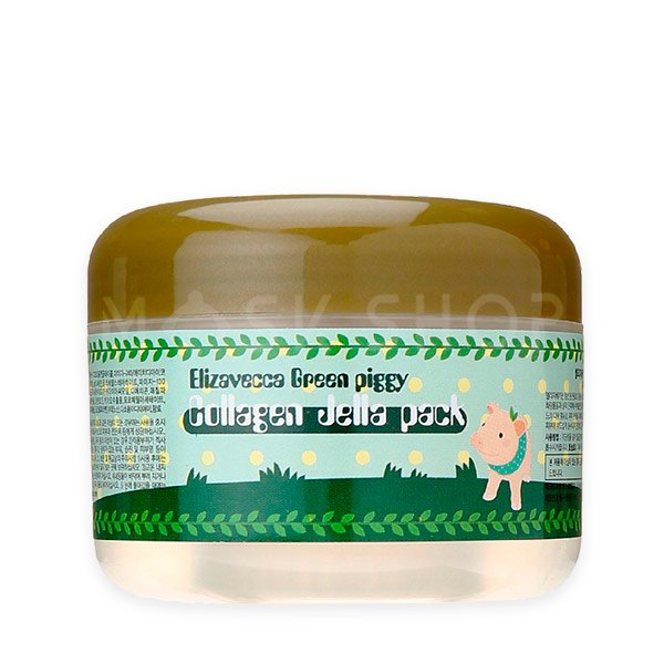 Коллагеновая маска Elizavecca Green Piggy Collagen Jella Pack фото