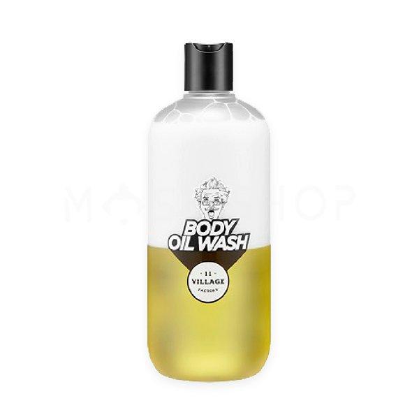 Купить Двухфазный гель-масло для душа с арганой Village 11 Factory Relax Day Body Oil Wash 500 мл