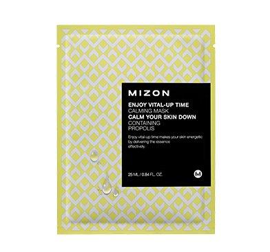 Успокаивающая маска для лица с экстрактом прополиса Mizon Enjoy Vital-Up Time Calming Mask фото