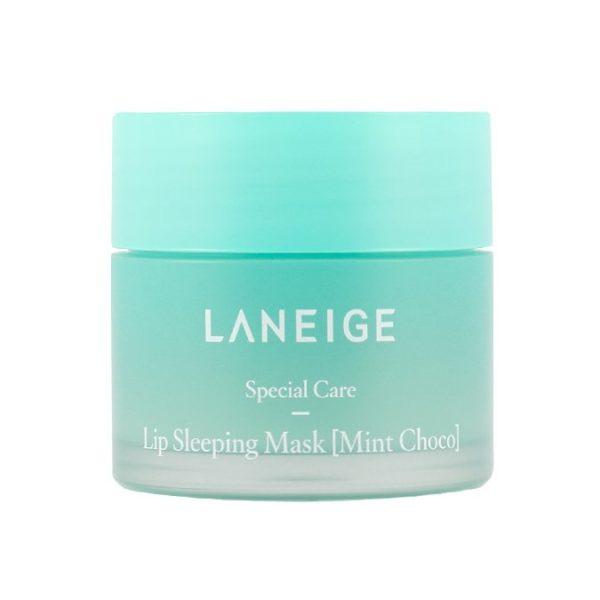 Ночная маска для губ с экстрактом мяты и шоколада Laneige Special Care Lip Sleeping Mask Mint Choco фото