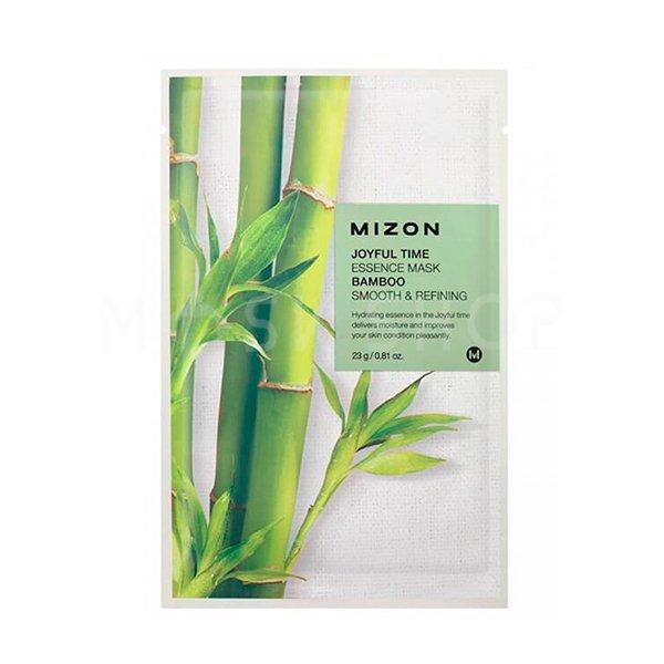 Тканевая маска для лица с экстрактом бамбука Mizon Joyful Time Essence Mask Bamboo фото