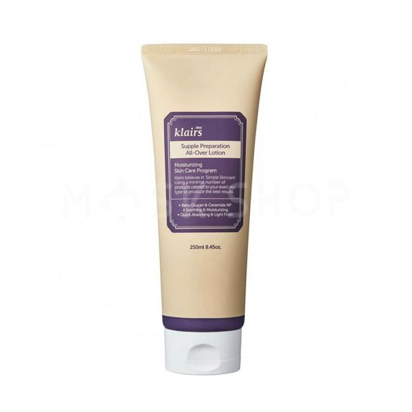 Увлажняющий лосьон Dear, Klairs Supple Preparation All Over Lotion фото