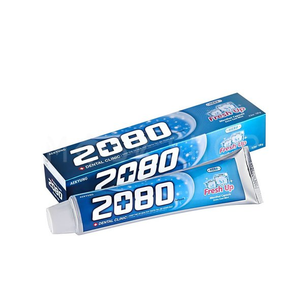 Зубная паста с экстрактом мяты Dental Clinic 2080 Fresh Up фото