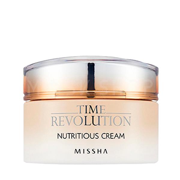 Питательный крем для лица Missha Time Revolution Nutritious Cream фото