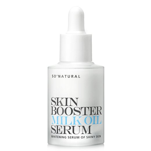 Осветляющая молочная сыворотка-бустер So Natural Skin Booster Milk Oil Serum