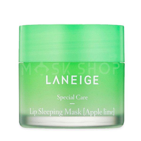 Купить Ночная маска для губ с экстрактом лайма Laneige Special Care Lip Sleeping Mask Apple Lime