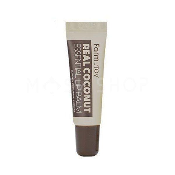 Бальзам для губ с кокосом FarmStay Real Coconut Essential Lip Balm фото