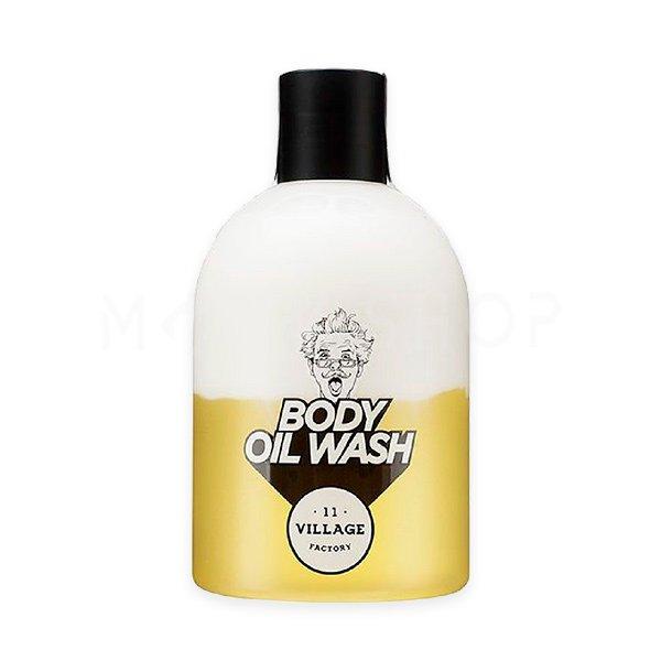 Двухфазный гель-масло для душа с арганой Village 11 Factory Relax Day Body Oil Wash 300 мл фото