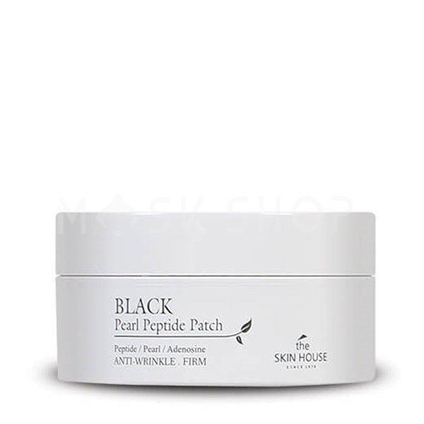Купить Омолаживающие патчи с пептидами и черным жемчугом The Skin House Black Pearl Peptide Patch