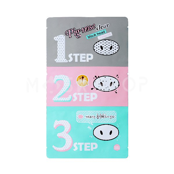Набор от черных точек Holika Holika Pig-Clear Black Head 3-Step Kit фото