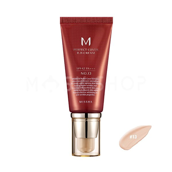 BB крем Missha M Perfect Cover BB Cream № 13, 50 мл фото