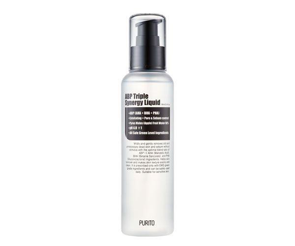 Средство с кислотами для обновления кожи Purito ABP Triple Synergy Liquid фото