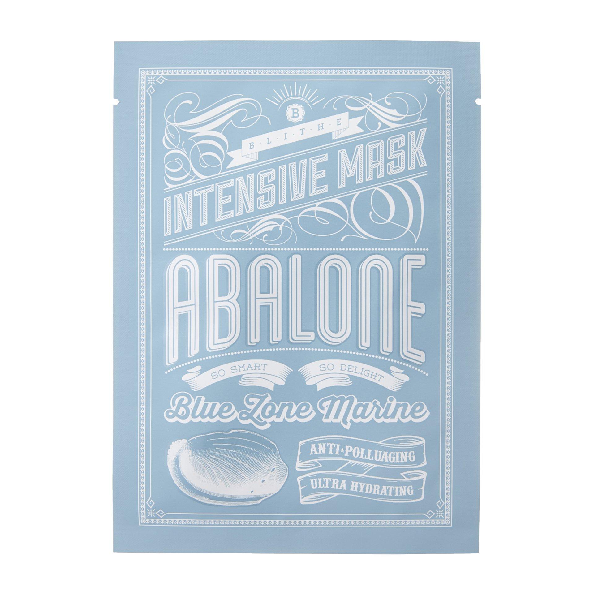 Тканевая маска с экстрактом морского моллюска Blithe Intensive Mask Abalone фото