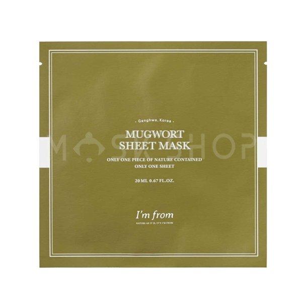 Тканевая маска с экстратом полыни I'm From Mugwort Sheet Mask фото