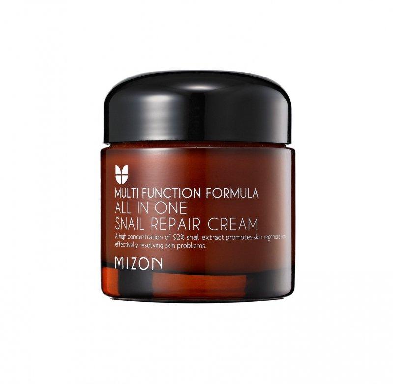 Крем с муцином улитки Mizon All In One Snail Repair Cream 120 мл фото