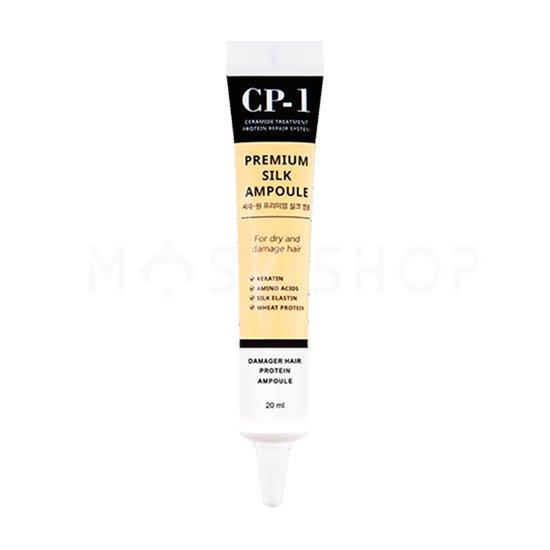 Несмываемая сыворотка Esthetic House CP-1 Premium Silk Ampoule с протеинами шелка 20 ml фото