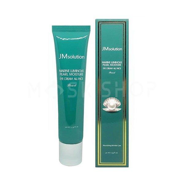 Многофункциональный крем для глаз и лица JMsolution Marine Luminous Pearl Moisture Eye Cream All Face фото