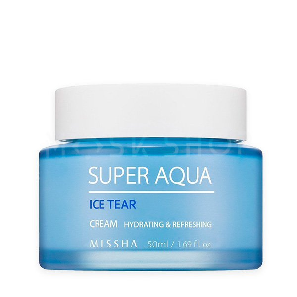 Освежающий крем для лица Missha Super Aqua Ice Tear Cream фото