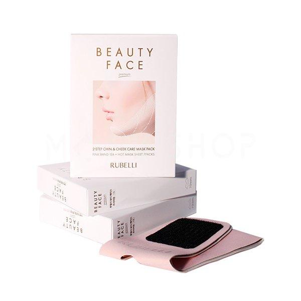 Маски и бандаж для подтяжки овала лица Rubelli Beauty Face фото