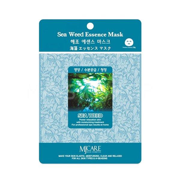 Тканевая маска с морскими водорослями Mijin Sea Weed Essence Mask фото